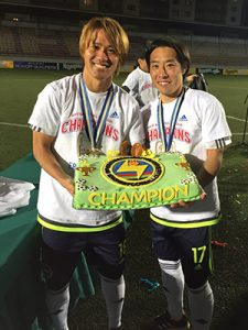 Maru Ishino League Champion2