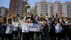 モンゴルスーパーカップ2017 優勝