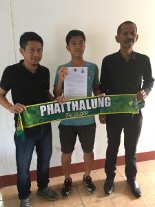 Kohsuke Asano Phatalung Signing